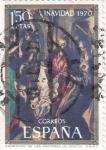 Stamps : Europe : Spain :  NAVIDAD-70 ADORACIÓN DE LOS PASTORES(32)