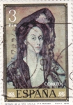 Sellos de Europa - España -  RETRATO SRA. CANALS (Picasso) (32)