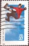 Sellos de America - Estados Unidos -  Scott#3324 nf4xb1 intercambio, 0,20 usd, 33 cents. 1999