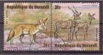 Stamps Burundi -  serie- animales africanos