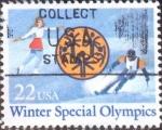 Sellos del Mundo : America : Estados_Unidos : Scott#2142 ji intercambio, 0,20 usd, 22 cents. 1985