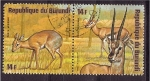 Sellos de Africa - Burundi -  serie- Animales africanos
