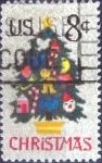 Stamps United States -  Scott#1508 intercambio, 0,20 usd, 8 cents. 1973