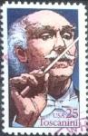 Stamps United States -  Scott#2411 intercambio, 0,20 usd, 25 cents. 1989