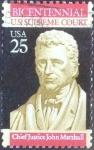 Stamps United States -  Scott#2415 intercambio, 0,20 usd, 25 cents. 1990