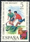 Stamps Spain -  ESPAÑA 1971 2058 Sello Nuevo I Copa Mundial de Hockey