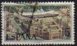 Sellos de Europa - España -  ESPAÑA 1971 2060 Sello L Aniversario Correo Aereo Avion Boeing 747 Usado