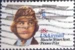 sellos de America - Estados Unidos -  Scott#C99 intercambio, 0,20 usd, 28 cents. 1980