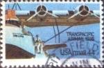 Stamps United States -  Scott#C115 intercambio, 0,25 usd, 44 cents. 1985