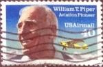 sellos de America - Estados Unidos -  Scott#C129 intercambio, 0,20 usd, 40 cents. 1991