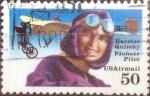 Sellos de America - Estados Unidos -  Scott#C128 intercambio, 0,25 usd, 50 cents. 1991
