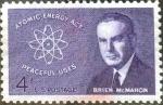 Sellos de America - Estados Unidos -  Scott#1200 intercambio, 0,20 usd, 4 cents. 1962
