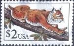 sellos de America - Estados Unidos -  Scott#2482 intercambio, 1,25 usd, 2 dólares 1990