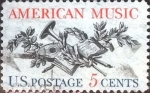 Stamps of the world : United States :  Scott#1252 intercambio, 1,25 usd, 5 cents. 1964