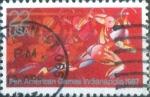 Sellos del Mundo : America : Estados_Unidos :  Scott#2247 nfb intercambio, 0,20 usd, 22 cents. 1987