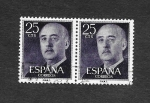 Stamps : Europe : Spain :  Edf 1146 - Francisco Franco Bahamonde
