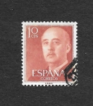 Stamps Spain -  Edf 1143 - Francisco Franco Bahamonde