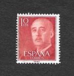Sellos de Europa - España -  Francisco Franco Bahamonde
