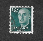 Stamps Spain -  Francisco Franco Bahamonde