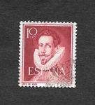 Stamps : Europe : Spain :  Edf 1072 - Lopez de Vega