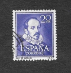 Stamps : Europe : Spain :  Ruiz de Alarcón