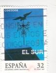 Stamps Spain -  EL SUR-cine español (32)