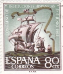 Stamps : Europe : Spain :  CONGRESO INSTITUCIONES HISPANICAS(32)