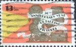 Sellos de America - Estados Unidos -  Scott#1727 intercambio, 0,20 usd, 13 cents. 1977