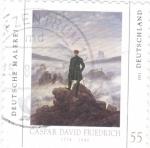 Sellos de Europa - Alemania -  PINTURA DE CASPAR DAVID