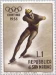 Sellos del Mundo : Europa : San_Marino : Juegos Olímpicos. Cortina d´Ampezo