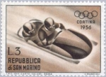 Sellos de Europa - San Marino -  Juegos Olímpicos. Cortina d´Ampezo