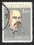 Stamps Portugal -  Eduardo Coelho (1835-89)