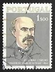 Sellos de Europa - Portugal -  Eduardo Coelho (1835-89)