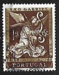 Sellos de Europa - Portugal -  Arcangel Gabriel