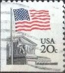 Stamps United States -  Scott#1896 intercambio, 0,20 usd, 20 cents. 1981