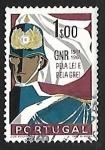 Sellos de Europa - Portugal -  Guarda de la Republica nacional
