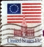 Stamps of the world : United States :  Scott#1625 intercambio, 0,20 usd, 13 cents. 1975