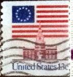 Sellos de America - Estados Unidos -  Scott#1625 intercambio, 0,20 usd, 13 cents. 1975