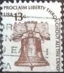 Stamps United States -  Scott#1595 intercambio, 0,20 usd, 13 cents. 1975