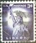 sellos de America - Estados Unidos -  Scott#1035 intercambio, 0,20 usd, 3 cents. 1954