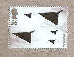 Sellos de Europa - Reino Unido -  Exhibiciones aéreas