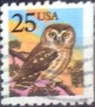 Sellos de America - Estados Unidos -  Scott#2285 intercambio, 0,20 usd, 25 cents. 1988