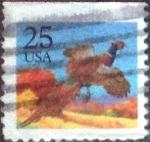 Sellos de America - Estados Unidos -  Scott#2283 intercambio, 0,20 usd, 25 cents. 1988