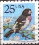 Stamps United States -  Scott#2284 intercambio, 0,20 usd, 25 cents. 1988