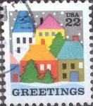 Sellos de America - Estados Unidos -  Scott#2245 intercambio, 0,20 usd, 22 cents. 1986