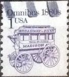 Stamps United States -  Scott#2225 intercambio, 0,20 usd, 1 cents. 1986