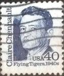 Sellos de America - Estados Unidos -  Scott#2187 intercambio, 0,20 usd, 40 cents. 1990