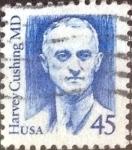 Sellos de America - Estados Unidos -  Scott#2188 intercambio, 0,20 usd, 45 cents. 1988