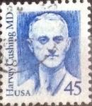 Stamps United States -  Scott#2188 intercambio, 0,20 usd, 45 cents. 1988