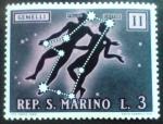 Sellos del Mundo : Europa : San_Marino : Zodiaco